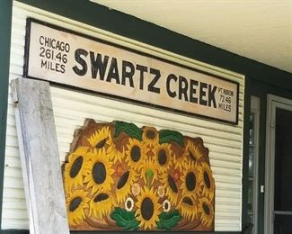 This is the original Swartz Creek Railroad Station built in the 1880's