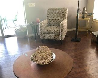 2 Flexsteel geometric chairs SOLD