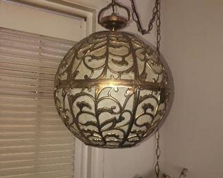 Brass lamp $200