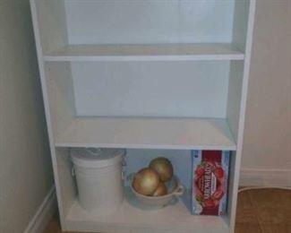 White shelf $20