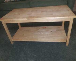 Coffee table $30