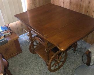 Tea cart $75