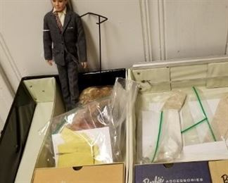 Vintage Ken doll in business suit