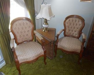 Beautiful parlor chairs