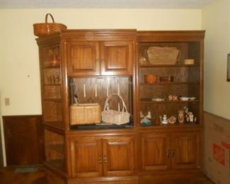 3 piece entertainment center - A great bookcase unit as well!