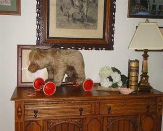 Buffet Stieff Bear, art ,