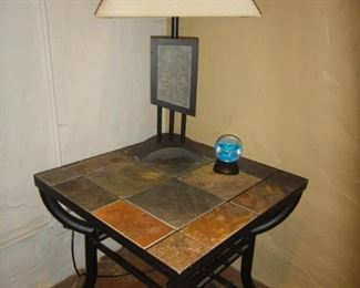 Matching end tables and lamps