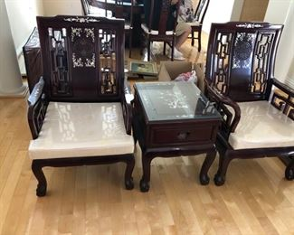 Beautiful Lacquer mother of Pearl Living Room Furniture