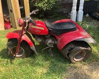 Honda 3 wheel ATV