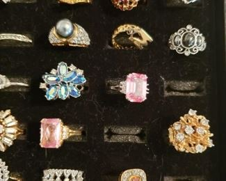 Lots of Fine and Costume Jewelry