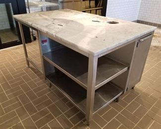 Stone Prep Table