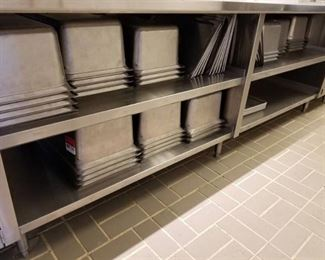 29 Inset Pans and 5 Sheet Pans