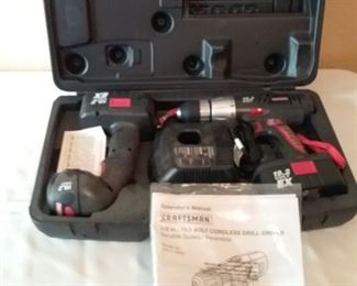 Craftsman Drill and Light Combination