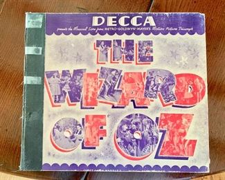Record Set, The Wizard Of Oz, Signed by Harold Arlen