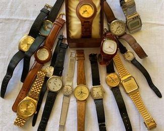 Vintage Wristwatches, including Ladies Cartier
