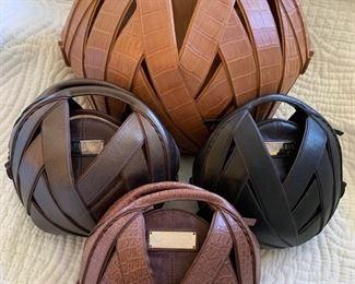 Leather Perrin Handbags