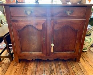 Antique C ountry French Buffet Cabinet