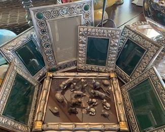 Buccellati Sterling, Gucci Silver Frames & Silver Animal Menagerie...