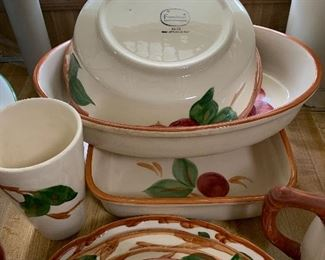 Franciscan Apple Dinnerware. Over 100 pieces!