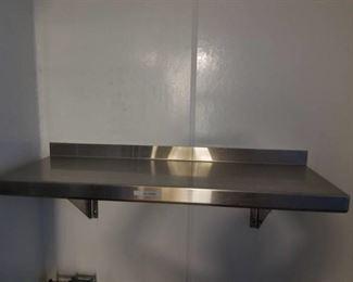 36in Stainless Steel Shelf