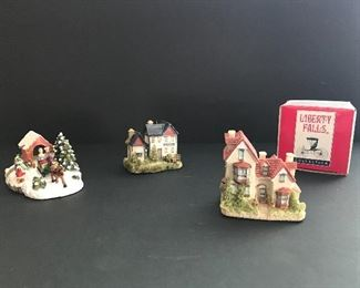 Complete Liberty Falls Christmas Collection: 100 plus pieces......