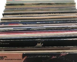 Box of vintage albums