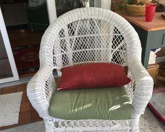 Nice wicker chair