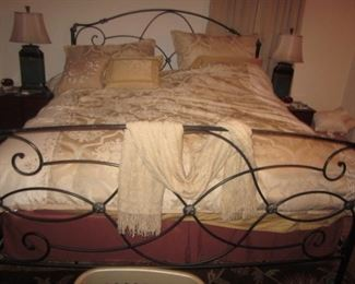 Queen Bed with Frame