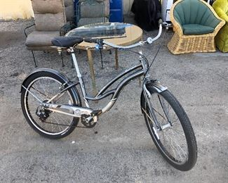 "Movie wrap gift bike from iconic T.V. show ""SIX FEET UNDER."""