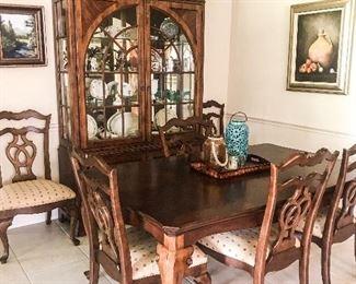 Thomasville dining set