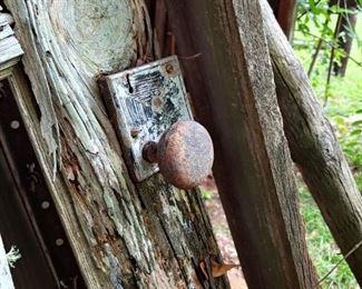Great antique door knob