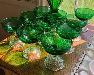 Evergreen boopie Tetley tea glasses