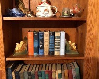 Vintage books and ephemera