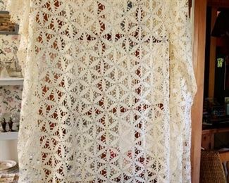 Beautiful hand-sewn bed cover