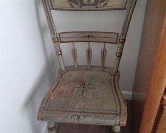 Primitive Wood Chairs