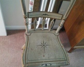 Country Craft Home Decor Wood Chairs