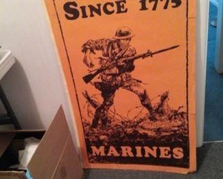 Original Wartime Marine Posters