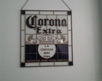 Back Bar Corona Beer Sign