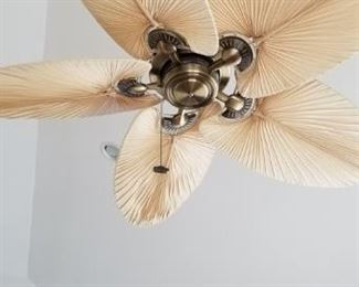 Emerson palm frond fan - two available