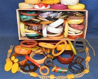 Vintage Bracelets and SOME BAKELITE!