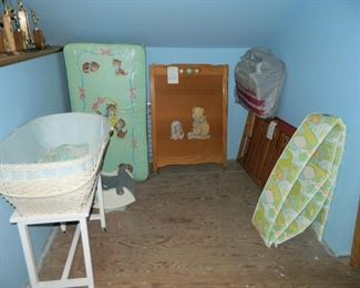 Antique baby furniture