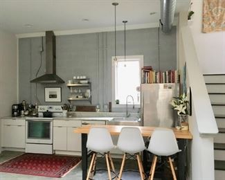 All Kitchen Items + Dishware + Books  + Rug