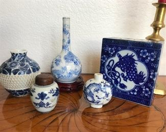 More nice Chinese and Japanese pottery