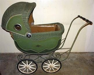 Art Deco Baby Buggy