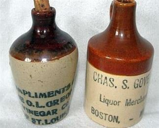 Mini Advertising Jugs Including St. Louis
