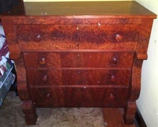 Period Walnut Chest Of Drawers