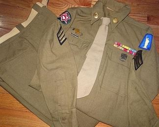 World War II 77th Infantry Uniform