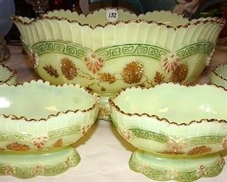 Northwood Custard Glass