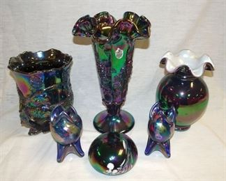 Fenton Carnival & Art Glass