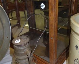 Small Display Case, German Lantern